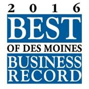 Business Record 2016 Best of Des Moines