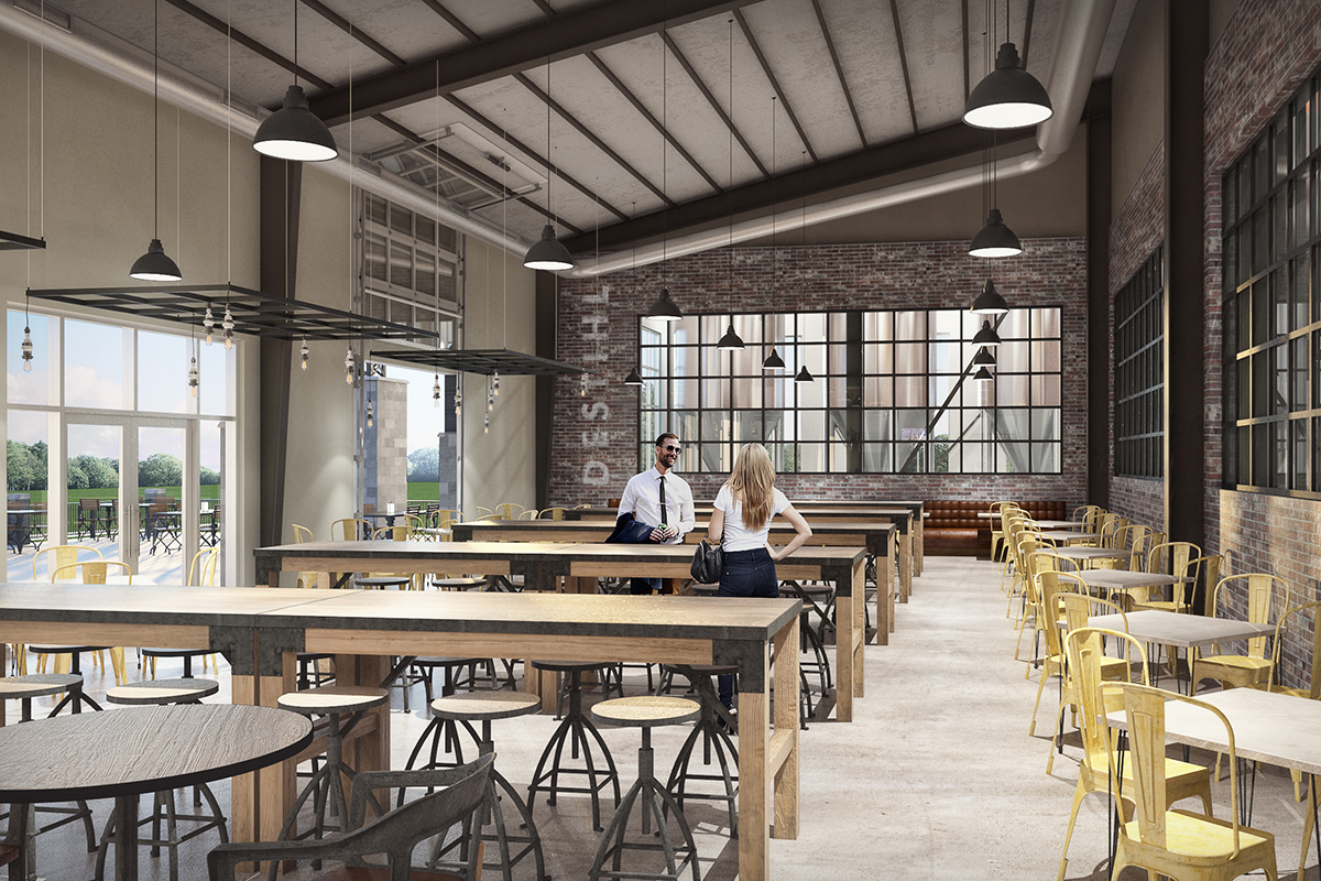 DESTIHL Brew House Interior Design