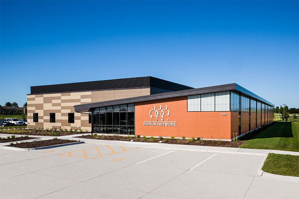 Iowa Donor Network New Facility