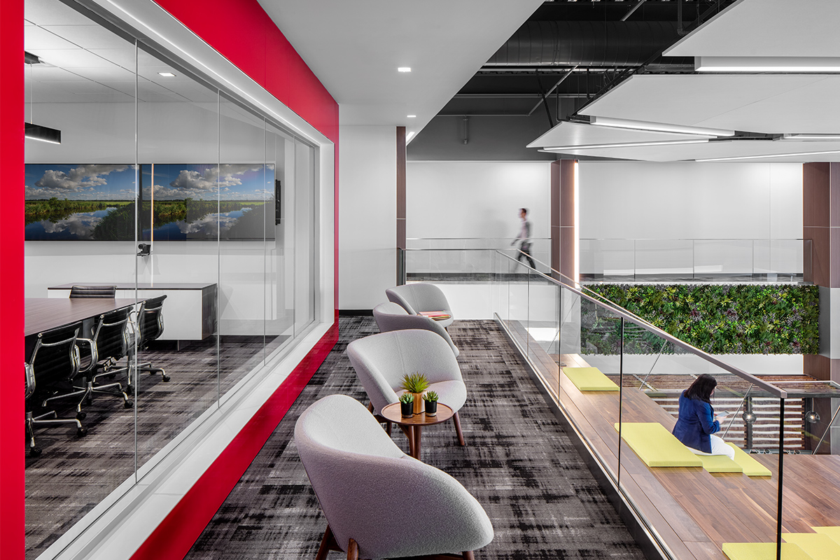 IMT Insurance New Corporate Headquarters - Branded Environment
