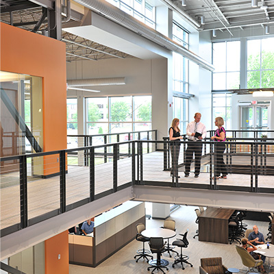Shive-Hattery's West Des Moines Office Renovation