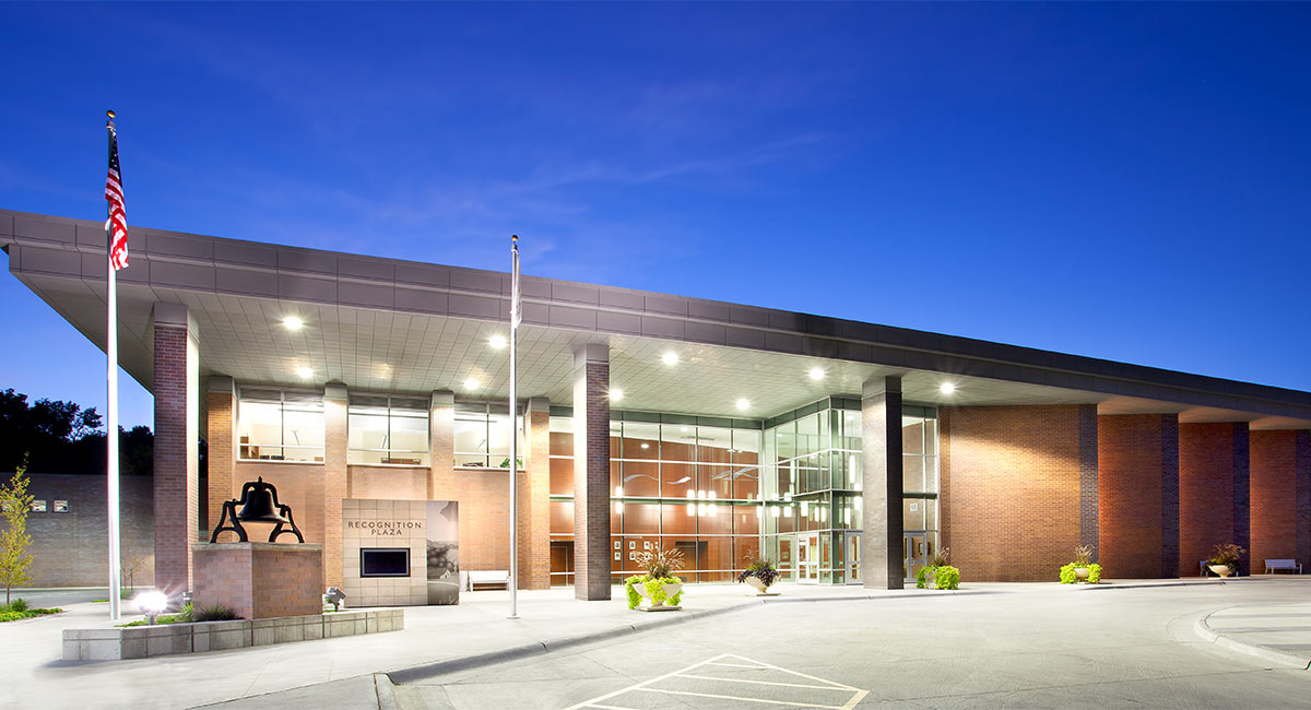 Cedar Rapids Schools District Educational Leadership and Support Center_Arch