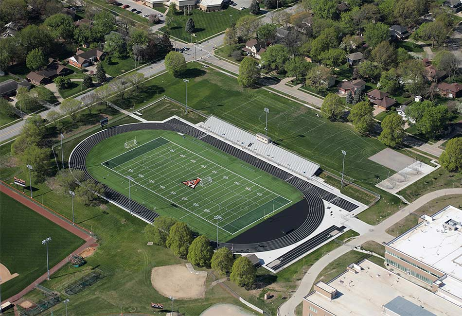 West Des Moines Community School District Tiger Field Renovation