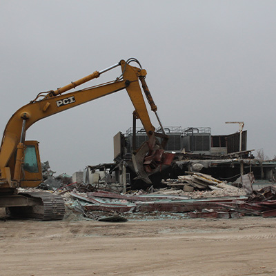 University of Iowa Raze Hancher Demolition