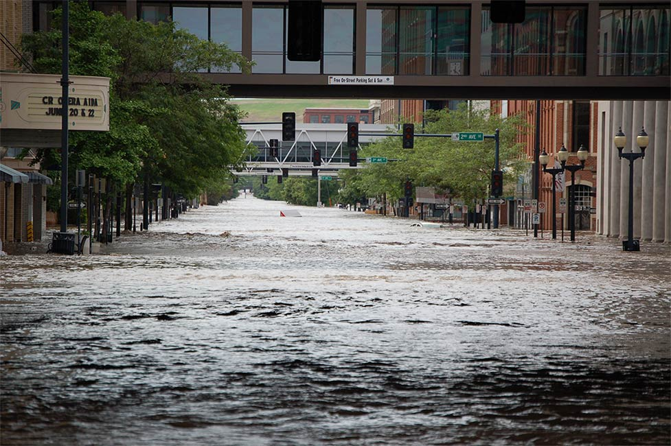 Cedar Rapids Flood 2008